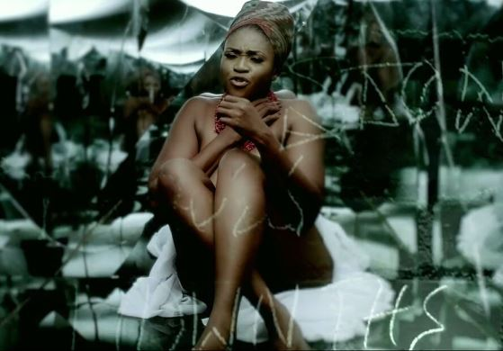 Waje gets naked in her new music video
