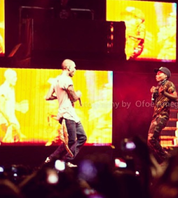 Wizkid & Chris Brown set the stage on fire