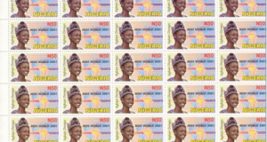 Agbani Darego Covers Nigerian Postal Stamps