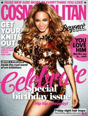 Beyonce Cover Of Cosmopolitan