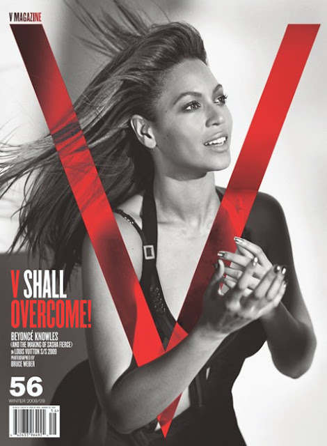 Beyonce On The Cover Of V Magazine