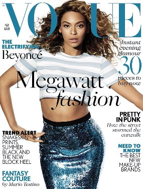 Beyonce On The Cover Of Vogue UK