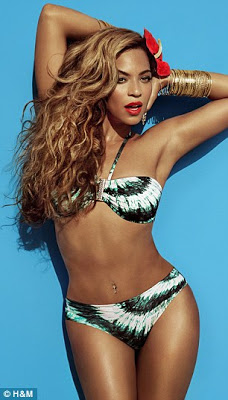 Beyonce in sexy H&M campaign