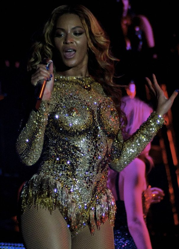 Beyonce opens her Mrs Carter Tour