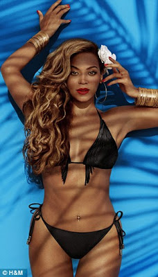 Beyonce sexy H&M campaign