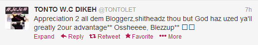 Bloggers Are Shit heads! Says Tonto Dikeh