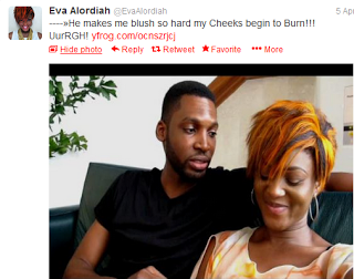 Eva Alordiah finds love with Charles Alexander Oputa Jr