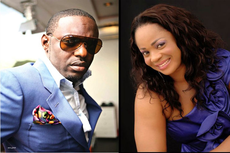 Jim Iyke and Steph Nora Okere