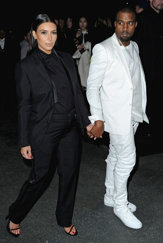 Kanye West and Kim K NaijaVibe