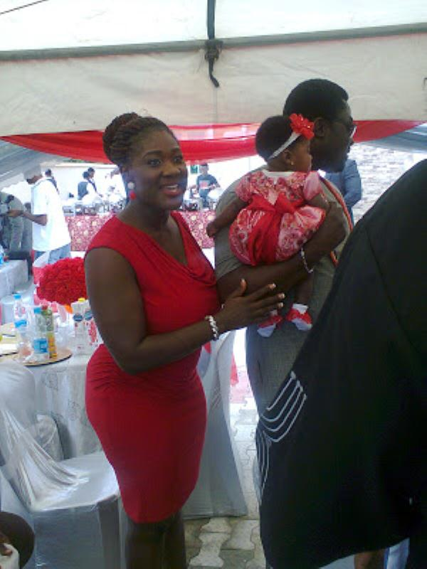 Mercy Johnson And Husband Dedicate Daughter