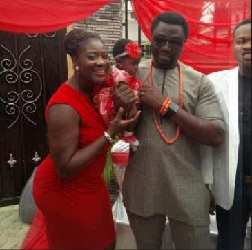Mercy Johnson and Prince Odianosen Okojie