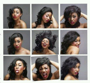 Rita Dominic shows us her different faces