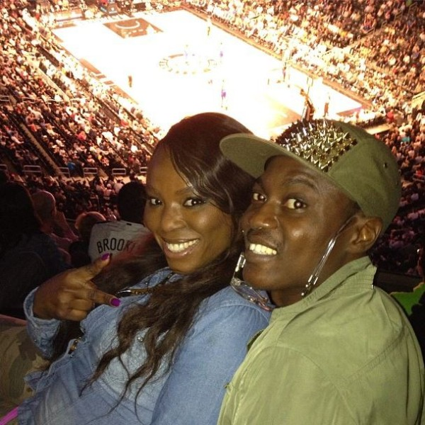 Sound Sultan at Brooklyn Nets Basketball Game in New York
