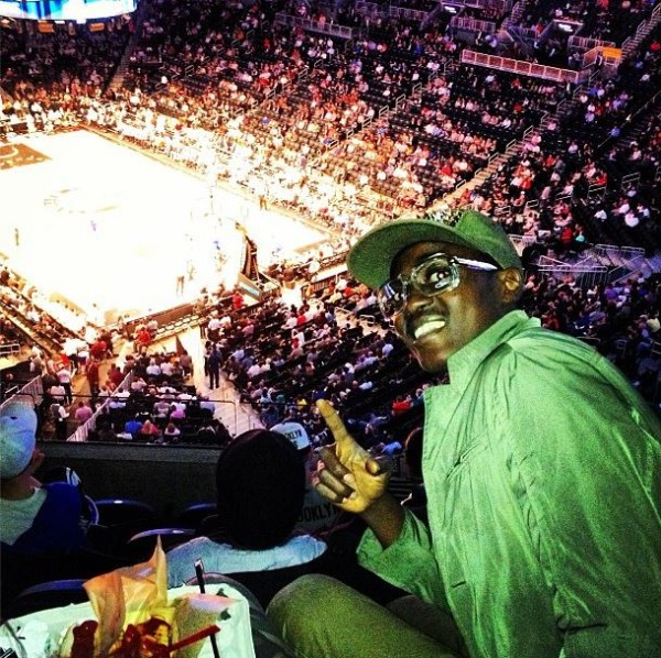Sound Sultan at Brooklyn Nets Basketball Game