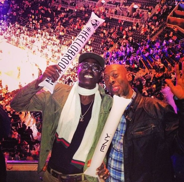 Sound Sultan at Brooklyn Nets Game