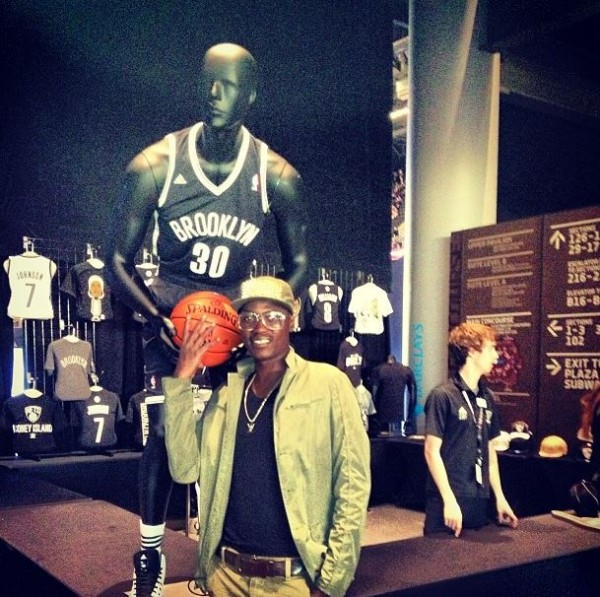 Sound Sultan at Brooklyn Nets