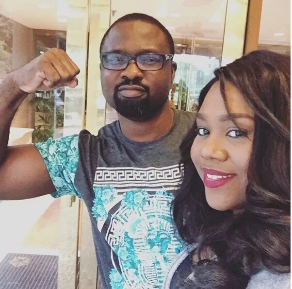 Stella Damasus and Daniel Ademinokan