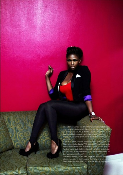 Waje Covers New Edition Of Exquisite Mag
