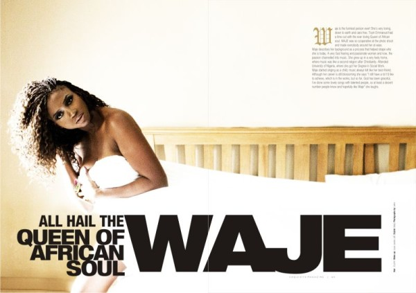 Waje Covers New Edition Of Exquisite Magazine