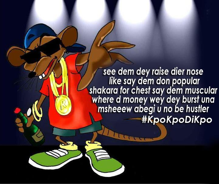 2Shotz releases series of cartoon pictures for His single release, Kpokpodikpo