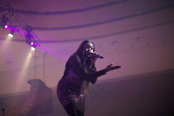 BUTTERSCOTCH EVENINGS - Waje performing