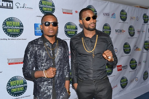 Dbanj & Olamide At The Nigerian Entertainment Conference
