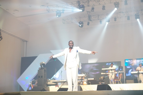 Johnny Gill Performing at BUTTERSCOTCH EVENINGS