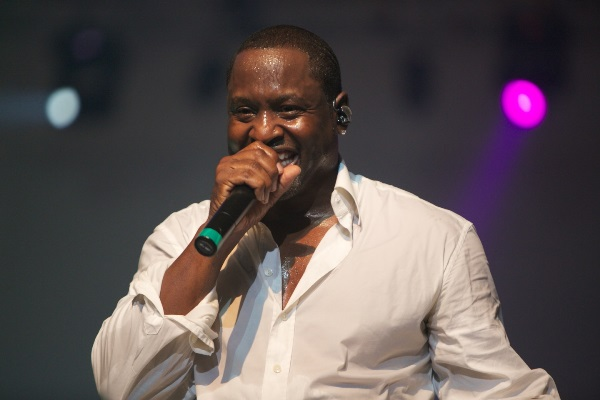 Johnny Gill Performing