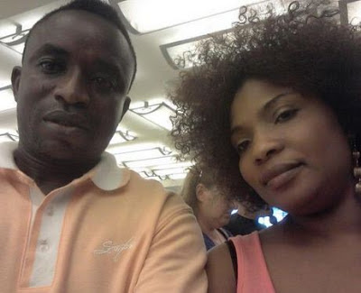 Laide Bakare and Olumide
