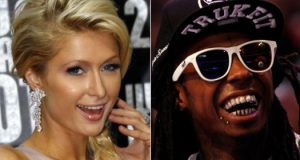 Lil wayne signs Paris Hilton to his music label (YMCMB)