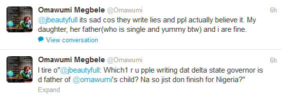 Omawunmi Opens Up! My Daughter's Father Is Single & YUMMY