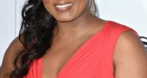 Omotola dazzles in red at Maxim's hot 100 party