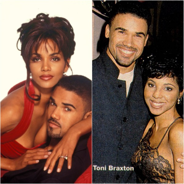 Shemar Moore, Halle Berry and Toni Braxton