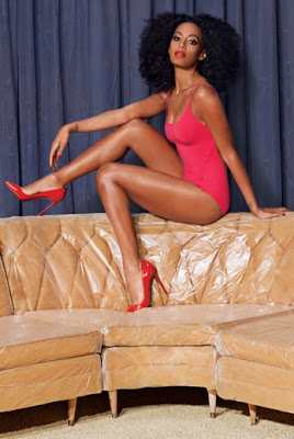 Solange Knowles sexy photoshoot