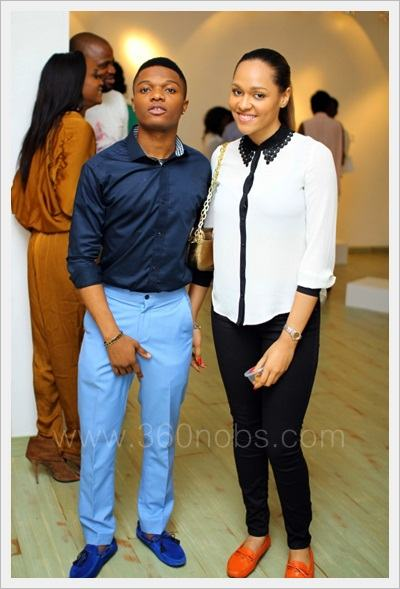 Wizkid And His Boo Attend Moet & Chandon Fashion Event