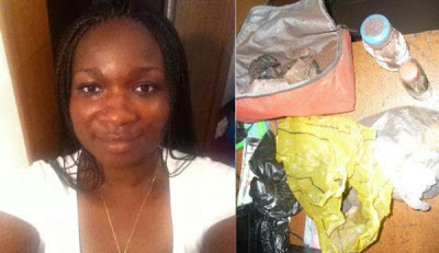 Yussuf Ayila's ex-wife caught with charms