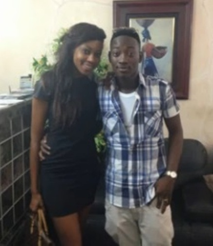 Yvonne Nelson and Dammy Krane