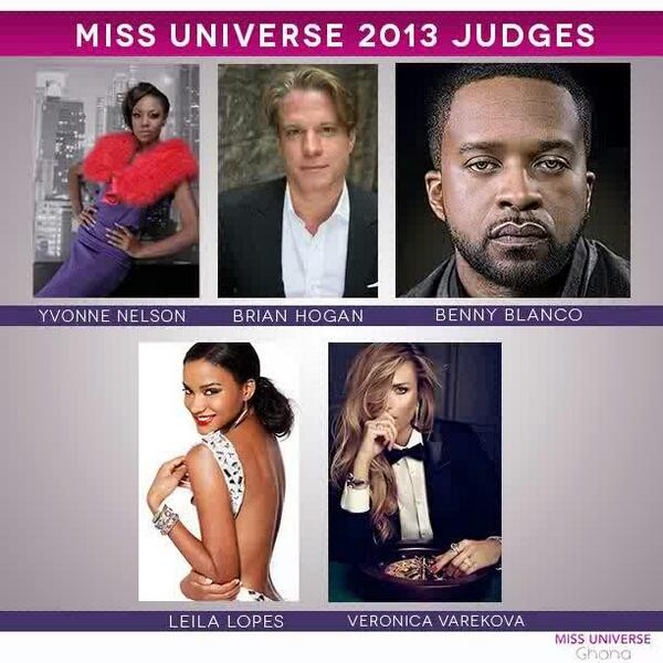 Yvonne Nelson announced as a judge for 2013 Miss Universe pageant