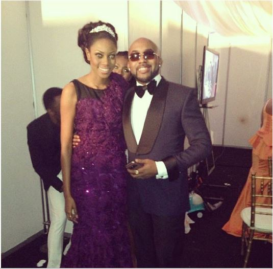 BankyW and Yvonne Nelson