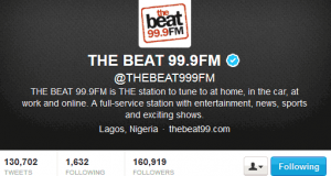 Beat Fm becomes first African radio station to get verified on twitter