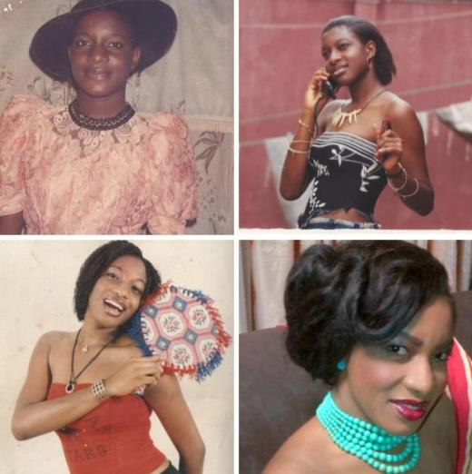 Chika Ike shares picture of herself as a teenager