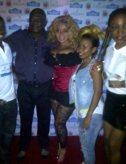 Cossy Orjiakor Unleashes boobs at fashion Show
