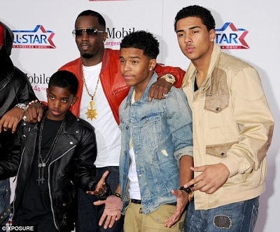 Diddy and his kids