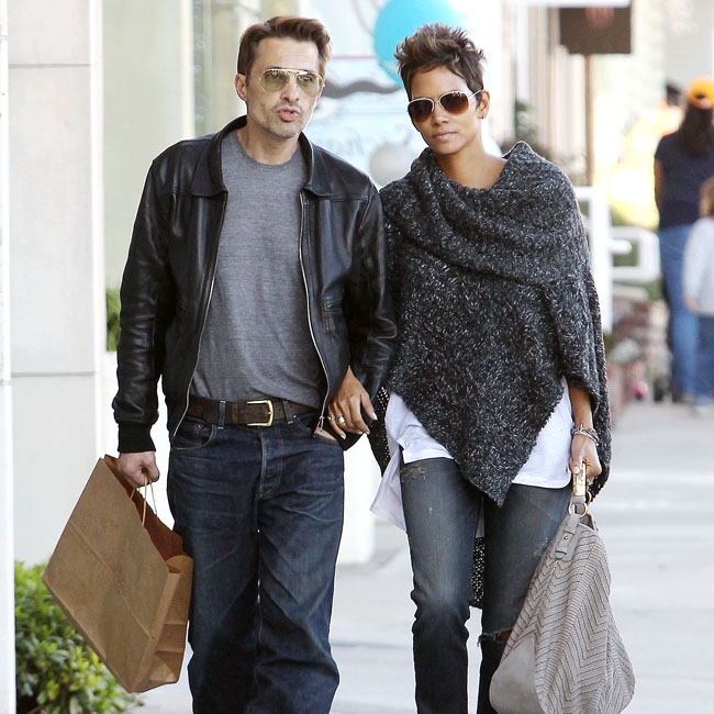 Halle Berry and Olivier Martinz