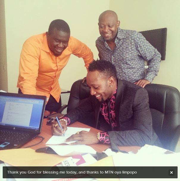 K-Cee gets MTN endorsement deal