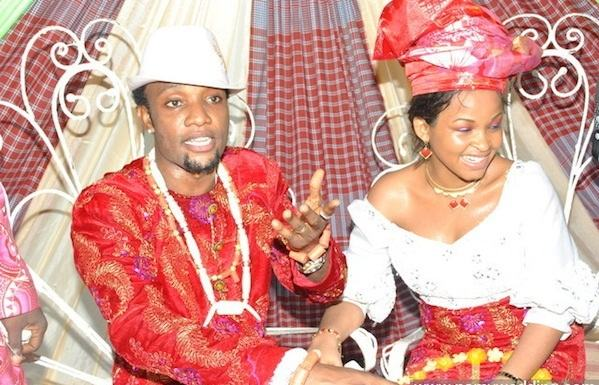 KCee and wife