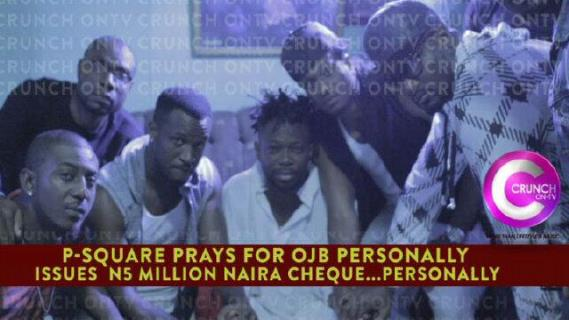 Peter, Paul and Jude Okoye donate N5million to OJB