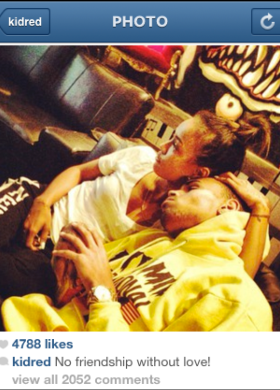 Rihanna shades the heck out of Chris Brown and Karrueche Tran