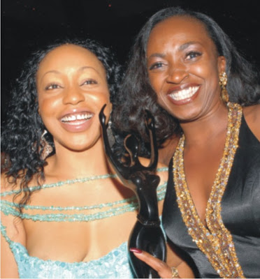 Rita Dominic and Kate Henshaw