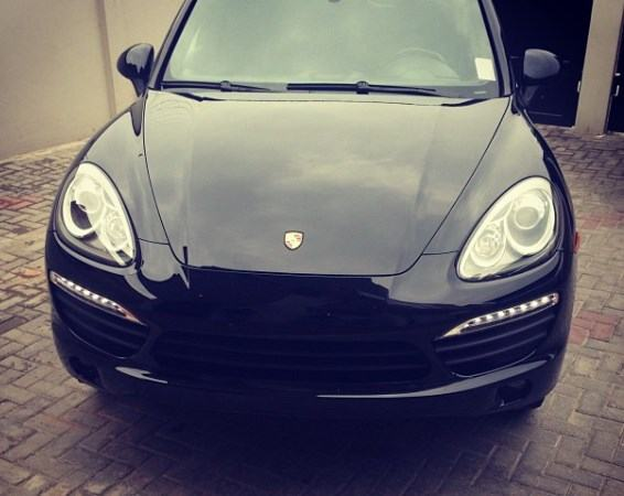 Wizkid buys new Porsche after his crash
